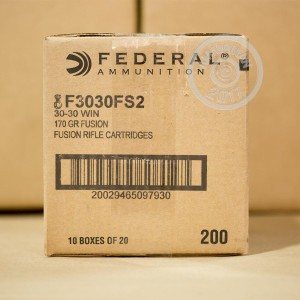 Picture of 30-30 WIN FEDERAL FUSION 170 GRAIN FUSION (20 ROUNDS)