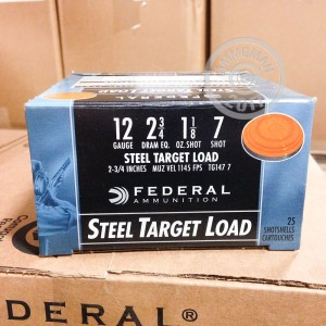 "Picture of 12 GAUGE FEDERAL TOP GUN STEEL 2-3/4"" #7 (25 SHELLS)"