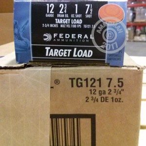 "Picture of 12 GAUGE FEDERAL TOP GUN 2-3/4"" #7.5 SHOT (250 ROUNDS)"
