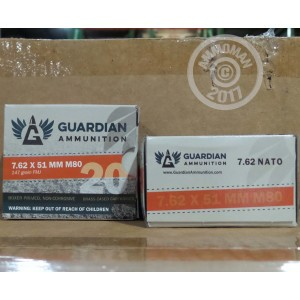 Picture of 7.62x51MM GUARDIAN AMMUNITION 147 GRAIN FMJ M80 (640 ROUNDS)