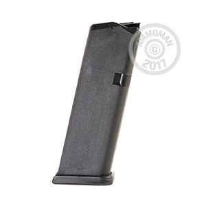 Image of the 9MM GLOCK 19 MAGAZINE OEM 10 ROUND GENERATION 4 (1 MAGAZINE) available at AmmoMan.com.