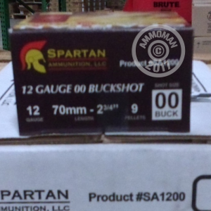 "Picture of 12 GAUGE SPARTAN 2-3/4"" 00 BUCK (25 ROUNDS)"