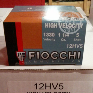 "Picture of 12 GAUGE 2-3/4"" FIOCCHI HIGH VELOCITY #5 SHOT (250 ROUNDS)"