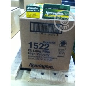 Picture of 22 LR REMINGTON GOLDEN BULLET 40 GRAIN PLATED ROUND NOSE (500 ROUNDS)