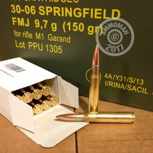 Picture of 30-06 PRVI PARTIZAN 150 GRAIN FMJ IN AMMO CAN (500 ROUNDS)