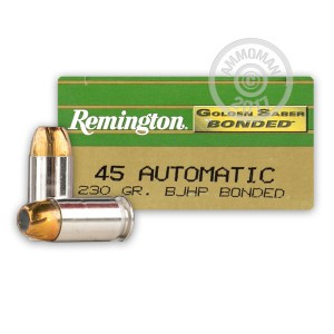 Picture of .45 ACP REMINGTON GOLDEN SABER 230 GRAIN JHP (50 ROUNDS)