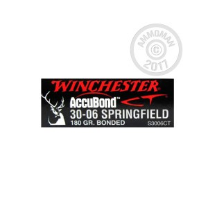 Picture of 30-06 SPRINGFIELD 180 GRAIN ACCUBOND CT POLYMER TIP (20 ROUNDS)