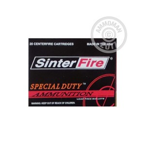 Picture of 45 ACP - 155 Grain Frangible HP - SinterFire Special Duty - 20 Rounds