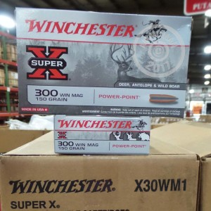 Picture of 300 WINCHESTER MAGNUM WINCHESTER SUPER-X 150 GRAIN POWER-POINT (20 ROUNDS)