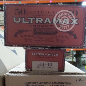 Picture of 44-40 WCF ULTRAMAX 200 GRAIN RNFP (50 ROUNDS)