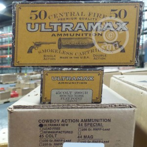 Picture of 45 COLT ULTRAMAX 200 GRAIN RNFP (50 ROUNDS)
