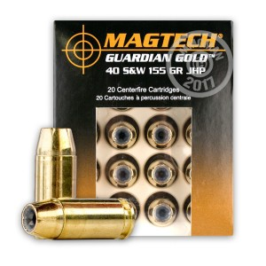 Picture of 40 S&W MAGTECH GUARDIAN GOLD 155 GRAIN JHP (20 ROUNDS)
