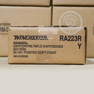 Picture of .223 REMINGTON WINCHESTER RANGER 55 GRAIN PSP (200 ROUNDS)