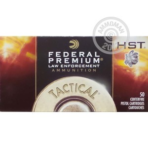 Picture of .40 S&W FEDERAL PREMIUM LE 180 GRAIN HST (1000 ROUNDS)