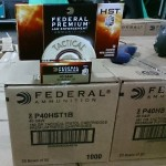 Image of 40 S&W Ammo - 1000 Rounds of Federal Tactical 180 Grain JHP at AmmoMan.com