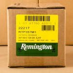 Image of 500 Rounds of Remington HTP 125 Grain SJHP 357 Mag Ammo with Free Shipping at AmmoMan.com