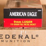 Image of 9mm Ammo - 1000 Rounds of 115 Grain FMJ Federal American Eagle AE9DP with Free Shipping at AmmoMan.com