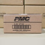 Image of 5.56 Ammo at AmmoMan.com - PMC XP193 55 Grain Full Metal Jacket Boat Tail - 1000 Rounds