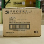 Image of 100 Rounds of 50 BMG 660 Grain Federal American Eagle XM33C FMJ Ammo at AmmoMan.com