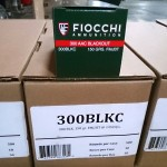 Image of 300 AAC Blackout Ammo at AmmoMan.com - Fiocchi 300BLKC 150 Grain FMJ - 500 Rounds