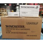 Image of 5.56x45 Ammo - 1000 Rounds of 50 Grain Frangible Winchester with Free Shipping at AmmoMan.com