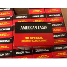38 SPECIAL FEDERAL 130 GRAIN BALL #AE38K (1000 ROUNDS)