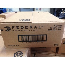 "12 GAUGE FEDERAL 2-3/4"" 1 OZ SLUG (250 ROUNDS)"
