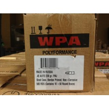 .45 AUTO WOLF FMJ 230 GRAIN STEEL CASE (500 ROUNDS)