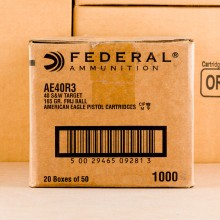 Photograph showing detail of FEDERAL 40 S/W 165 GRAIN #AE40R3 (1000 ROUNDS)