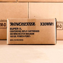 300 WINCHESTER MAGNUM WINCHESTER SUPER-X 150 GRAIN POWER-POINT (20 ROUNDS)