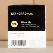 .22 LR SK STANDARD PLUS 40 GRAIN LRN (50 ROUNDS)