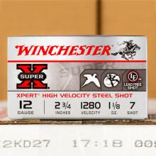 "12 GAUGE WINCHESTER SUPER-X 2-3/4"" #7 STEEL SHOT (250 ROUNDS)"