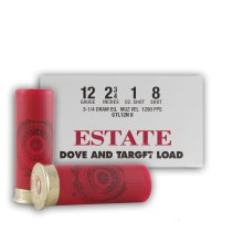 "12 GAUGE ESTATE DOVE AND TARGET LOAD 2-3/4"" 1 OZ. #8 LEAD SHOT (250 ROUNDS)"