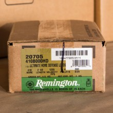 "410 BORE REMINGTON HOME DEFENSE 2-1/2"" 000 BUCKSHOT (150 ROUNDS)"
