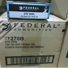 270 WIN FEDERAL POWER-SHOK 150 GRAIN SP (20 ROUNDS)