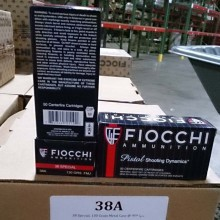 38 SPECIAL FIOCCHI SHOOTING DYNAMICS 130 GRAIN FMJ (50 ROUNDS)