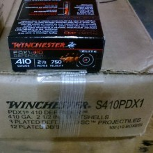 "410 BORE WINCHESTER PDX1 DEFENDER 2-1/2"" 3DD (10 ROUNDS)"