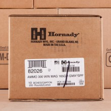 300 WIN MAG HORNADY SUPERFORMANCE 165 GRAIN GMX (20 ROUNDS)