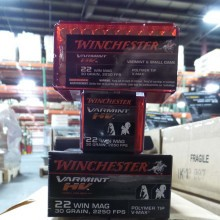 22 MAGNUM WINCHESTER VARMINT HIGH VELOCITY 30 GRAIN V-MAX (50 ROUNDS)