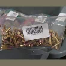 22 LR MIXED BRASS AND NICKEL PLATED (100 ROUNDS)