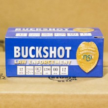 "12 GAUGE NOBELSPORT LE 2-3/4"" 00 BUCK (10 SHELLS)"