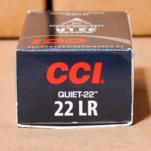 22 LR CCI QUIET 40 GRAIN LRN (500 ROUNDS)