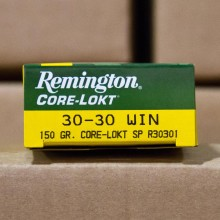 30-30 REMINGTON CORE-LOKT 150 GRAIN SP (20 ROUNDS)