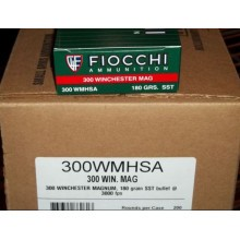 300 WINCHESTER MAGNUM FIOCCHI 180 GRAIN SST (20 ROUNDS)