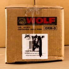 7.62X54R WOLF 148 GRAIN FMJ (20 ROUNDS)