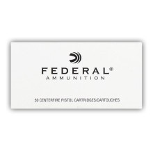 38 SPECIAL +P FEDERAL 158 GRAIN LSWCHP (50 ROUNDS)