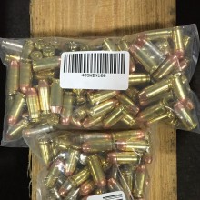 40 S&W MIXED BRASS AND NICKLE PLATED (100 ROUNDS)