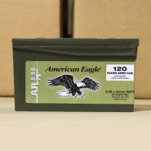 5.56X45MM FEDERAL AMERICAN EAGLE 62 GRAIN FMJ (600 ROUNDS)