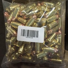 45 ACP MIXED BRASS AND NICKEL PLATED (100 ROUNDS)