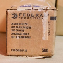 300 AAC FEDERAL AMERICAN EAGLE 220 GRAIN OTM (20 ROUNDS)